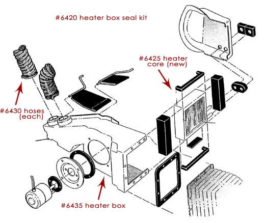 heater box diagram