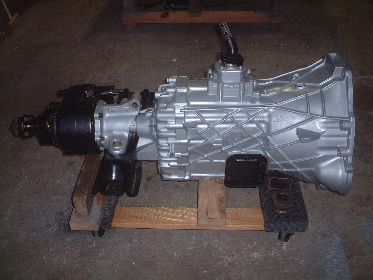 Zf Drivetrain Done Right Side on Zf Transmission Case