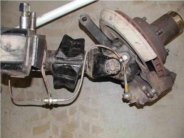 Early Bronco Parts >> Classic Broncos .com - Tech: Brake Lines for the Chevy Disc Brake Conversion into an 66-77 Early ...
