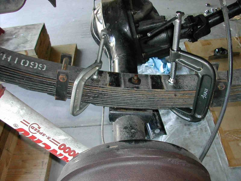 Classic Broncos Com Tech Install Rear Axle Shims In A