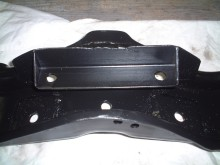 Crossmember w/angle iron ZF mounting bracket
