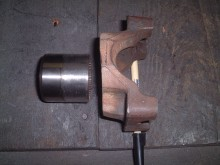 Cut down drivehaft yoke