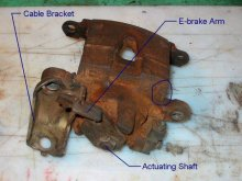 Ford Bronco Cadillac Rear Brakes
