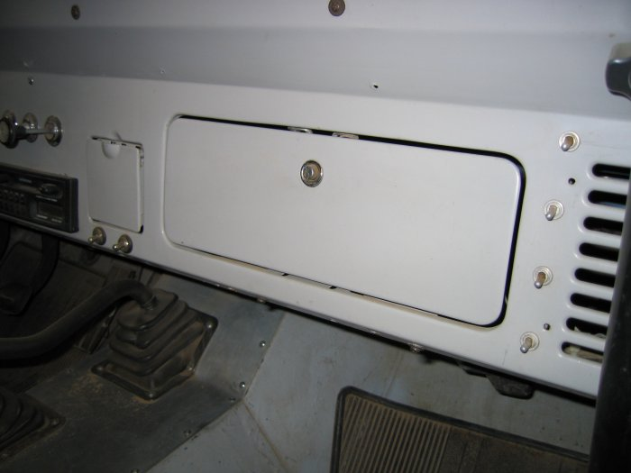 early bronco glove box by tuffy security products ... early bronco fuse box