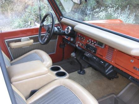 photo gallery interior early bronco pictures