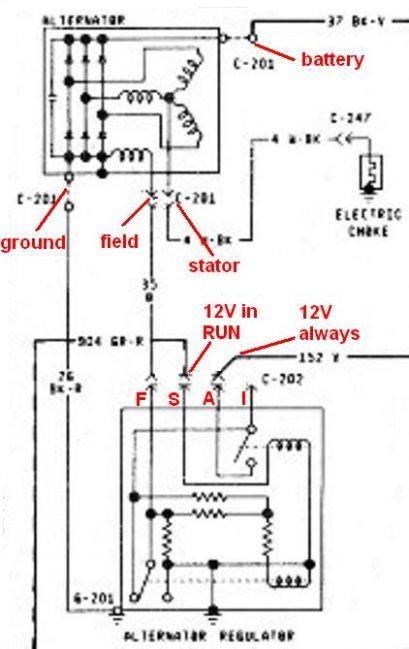3g Alternator Wiring And Amperage Classicbroncos Com