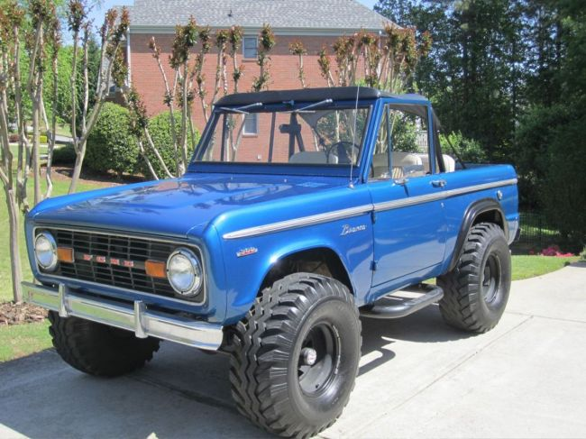 photo gallery 1968 ford bronco for sale front corner early bronco pictures. Black Bedroom Furniture Sets. Home Design Ideas