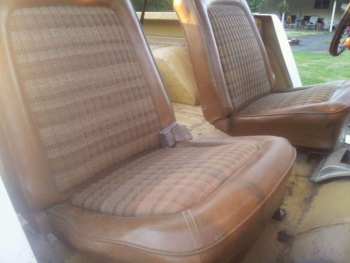 Ford Bronco Rear Bucket Seats